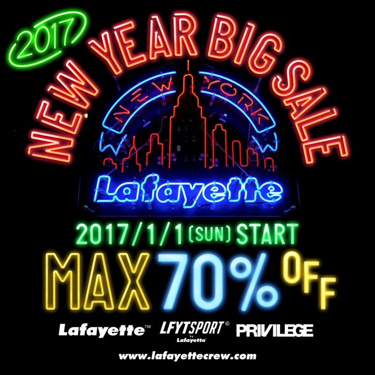 NEW YEAR SALE2017